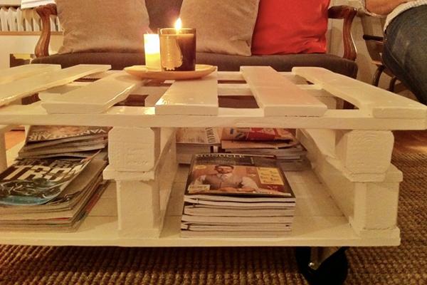 7 ขั้นตอน การทำโต๊ะกลางจากไม้พาเลท
